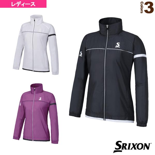 【テニス・バドミントン ウェア(レディース) スリクソン】ウインドジャケット/レディース(SDW-4661W)