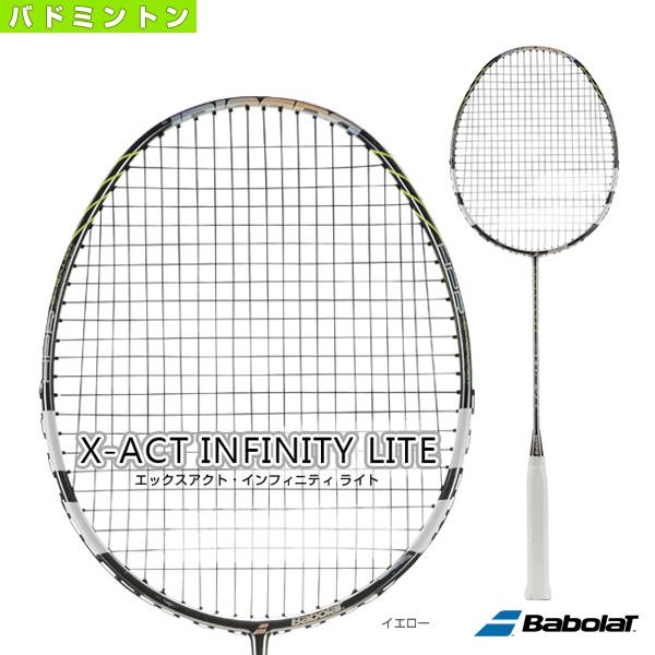 【バドミントン ラケット バボラ】 エックスアクト・インフィニティ ライト/X-ACT INFINITY LITE(BBF602251)