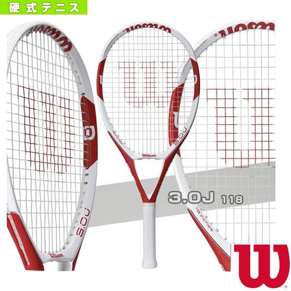【テニス ラケット ウィルソン】 3.0 J 118(WRT736010)硬式テニスラケット硬式ラケット