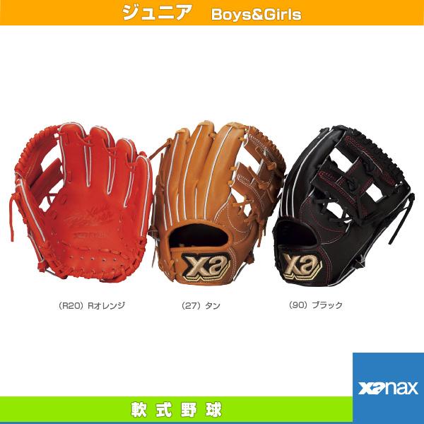【軟式野球 グローブ ザナックス】 Xana Power/ザナパワーシリーズ/軟式ジュニア用グラブ/オールラウンド小(BJG-4017)