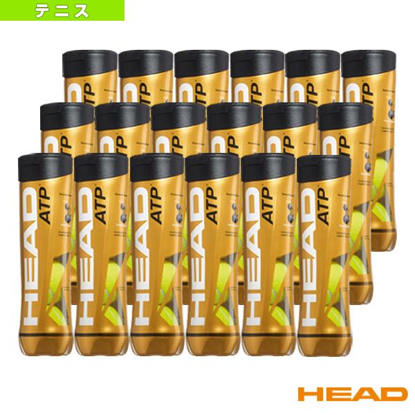 【テニス ボール ヘッド】HEAD ATP/ヘッドATP『箱単位(18缶/72球)』(570674)