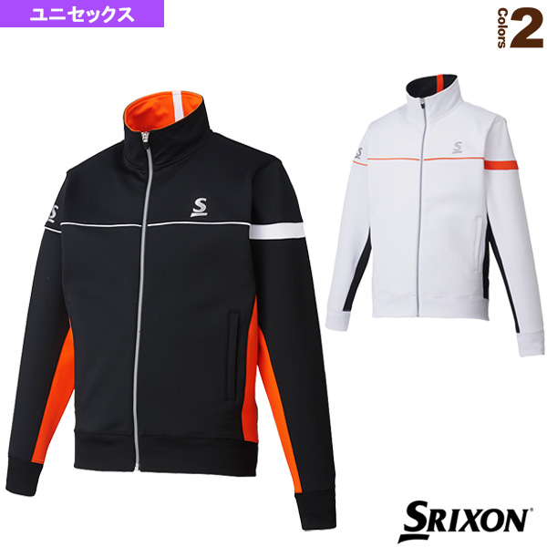 【テニス・バドミントン ウェア(メンズ/ユニ) スリクソン】フリースジャケット/ユニセックス(SDF-5701)