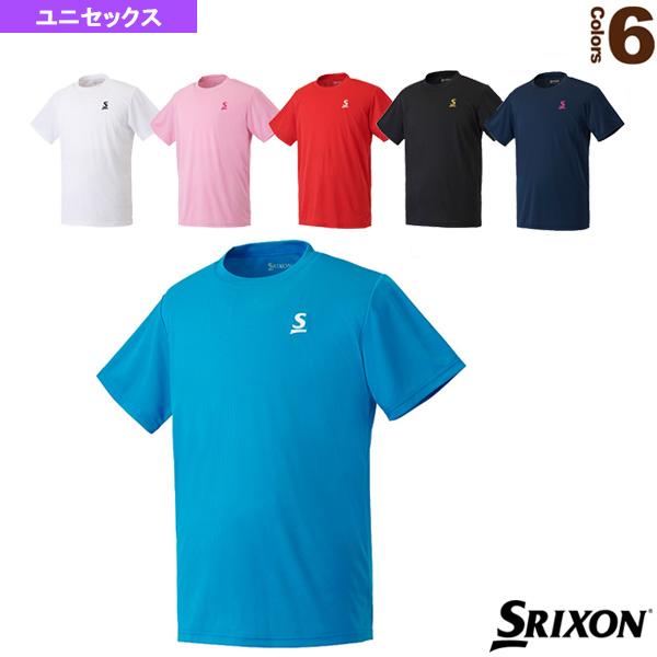 テニス バドミントン ウェア メンズ ユニ Tシャツ 有名な SDL-8603 ユニセックス 男女兼用 スリクソン クラブライン