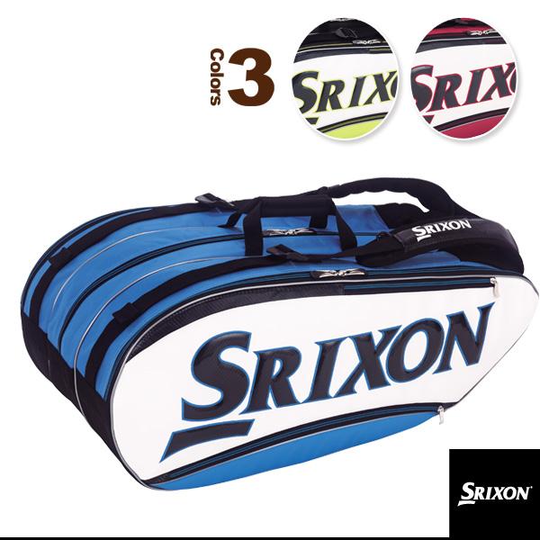 【テニス バッグ スリクソン】ラケットバッグ/ラケット12本収納可(SPC2781)