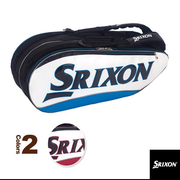 【テニス バッグ スリクソン】ラケットバッグ/ラケット8本収納可(SPC2782)