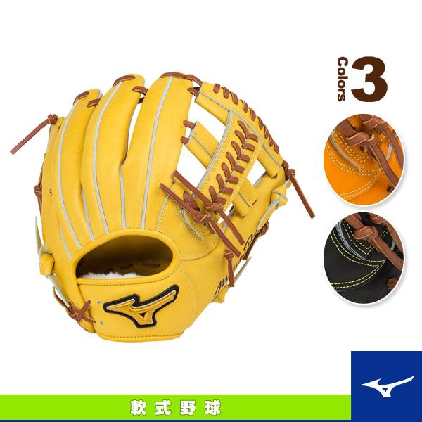 【軟式野球 グローブ ミズノ】ミズノプロ フィンガーコアテクノロジー/軟式・内野手(4/6)用グラブ/ポケットウェブ下タイプ(1AJGR16023)