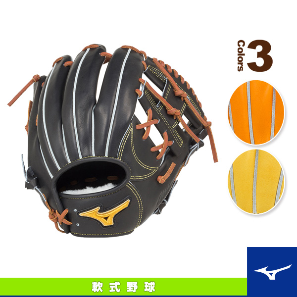 【軟式野球 グローブ ミズノ】 ミズノプロ フィンガーコアテクノロジー/軟式・投手用グラブ/タイト設計・ポケット正面タイプ(1AJGR16053)