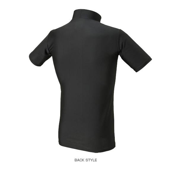 e1e75e18672 Sportsplaza  Compression mock neck short sleeve shirt   men (920582 ...