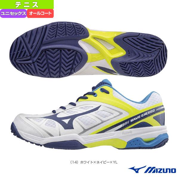 【テニス シューズ ミズノ】ウエーブエクシード AC/WAVE EXCEED AC/ユニセックス(61GA1753)