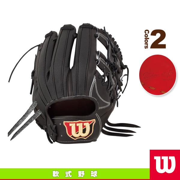 【軟式野球 グローブ ウィルソン】Willson Staff DUAL/軟式用グラブ/内野手用(WTARWRD5H)