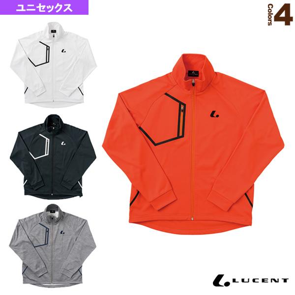 【テニス・バドミントン ウェア(メンズ/ユニ) ルーセント】Uni ウォームアップシャツ/ユニセックス(XLW-480)