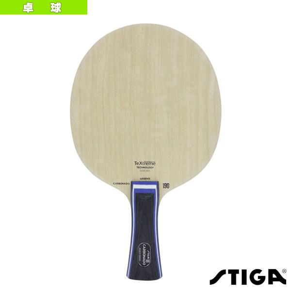 【卓球 ラケット スティガ】CARBONADO 190/カーボネード 190/LEG(1060-01)