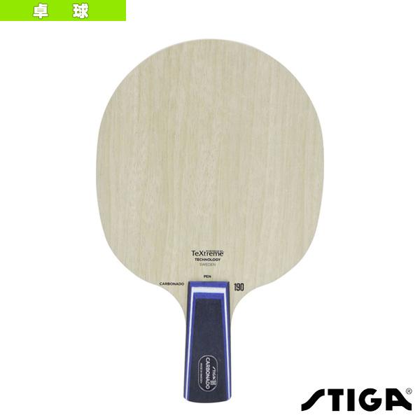 【卓球 ラケット スティガ】CARBONADO 190/カーボネード 190/PEN(1060-65)