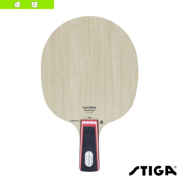 【卓球 ラケット スティガ】CAROBNADO 45/カーボネード 45/PEN(1062-65)