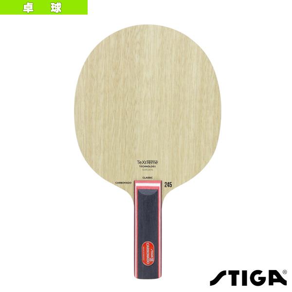 【卓球 ラケット スティガ】 CARBONADO 245/カーボネード 245/STR(1063-37)