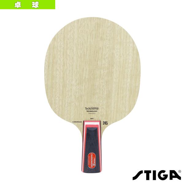 【卓球 ラケット スティガ】 CARBONADO 245/カーボネード 245/PEN(1063-65)