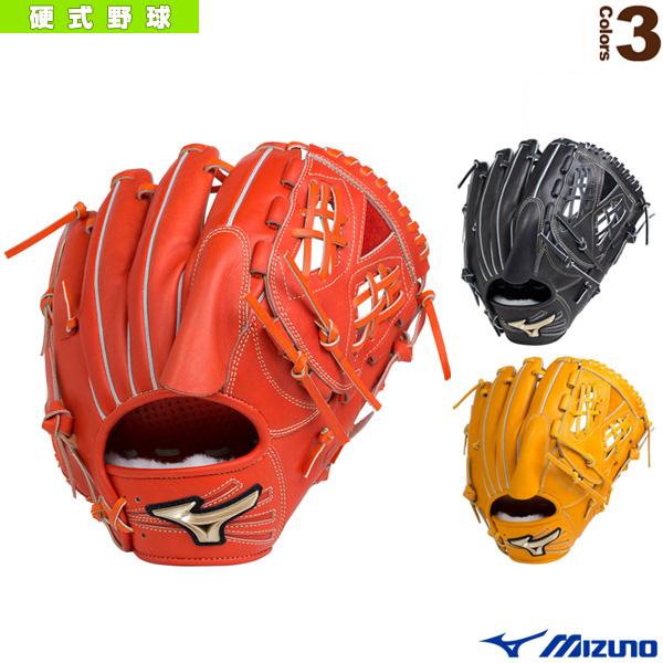 【野球 グローブ ミズノ】 グローバルエリート/H selection 02/硬式・投手用グラブ/中間型タイプ(1AJGH18301)