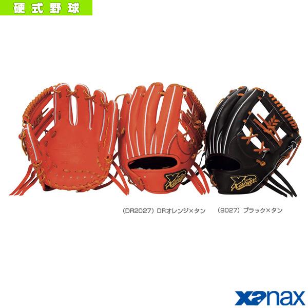 【野球 グローブ ザナックス】 TRUST-X/トラストエックスシリーズ/ 硬式用グラブ/内野手用(BHG-62418)