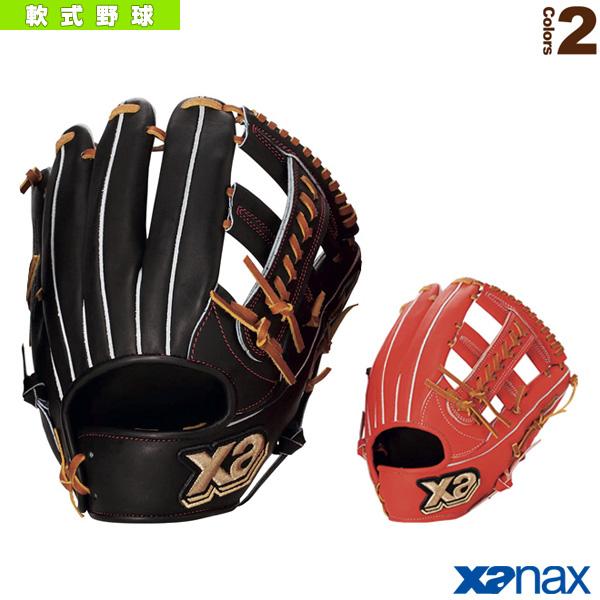 【軟式野球 グローブ ザナックス】 Xana Power/ザナパワーシリーズ/軟式用グラブ/内野手兼外野手用(BRG-5818)