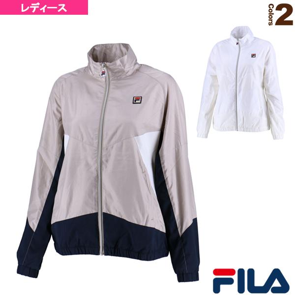 【テニス・バドミントン ウェア(レディース) フィラ】ウィンドアップジャケット/レディース(VL1769)