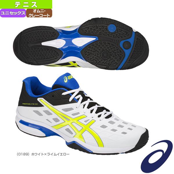 【テニス シューズ アシックス】PRESTIGELYTE OC-wide/プレステージライト OC ワイド/ユニセックス(TLL771)