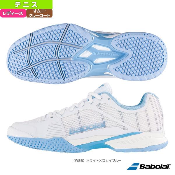 【テニス シューズ バボラ】JET MACH 1 OMNI W/ジェットマッハ1 オムニ/レディース(BAS18760)