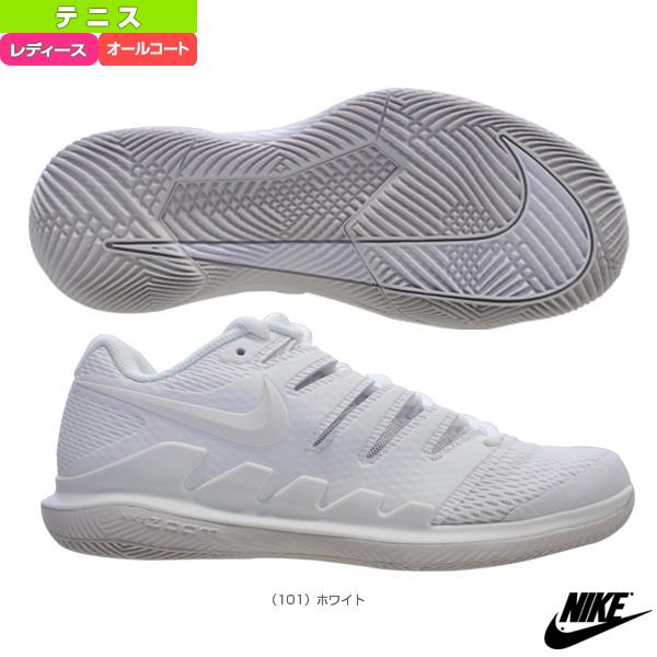【テニス シューズ ナイキ】コートウィメンズエアズームヴェイパー X HC/レディース(AA8027)