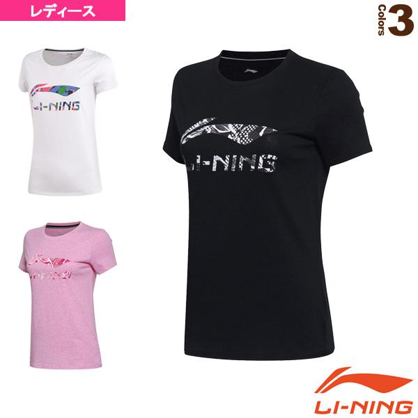 安心の定価販売 テニス バドミントン ウェア レディース 毎日激安特売で 営業中です AHSM074 トレーニングTシャツ リーニン