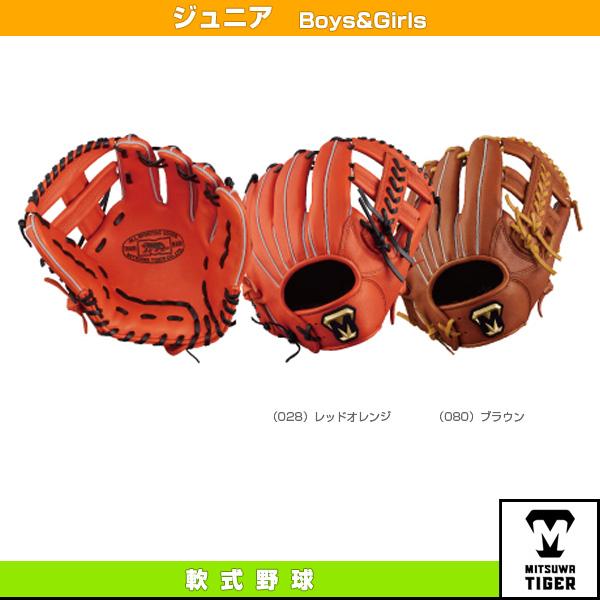 【野球 グローブ 美津和タイガー】 レボルタイガーシリーズ/少年軟式・オールラウンド用(RGJT18M1)