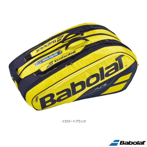 【テニス バッグ バボラ】ピュアライン ラケットバッグ/PURE LINE RACKET HOLDER X12/ラケット12本収納可(BB751180)