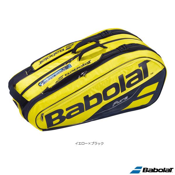 【テニス バッグ バボラ】 ピュアライン ラケットバッグ/PURE LINE RACKET HOLDER X9/ラケット9本収納可(BB751181)