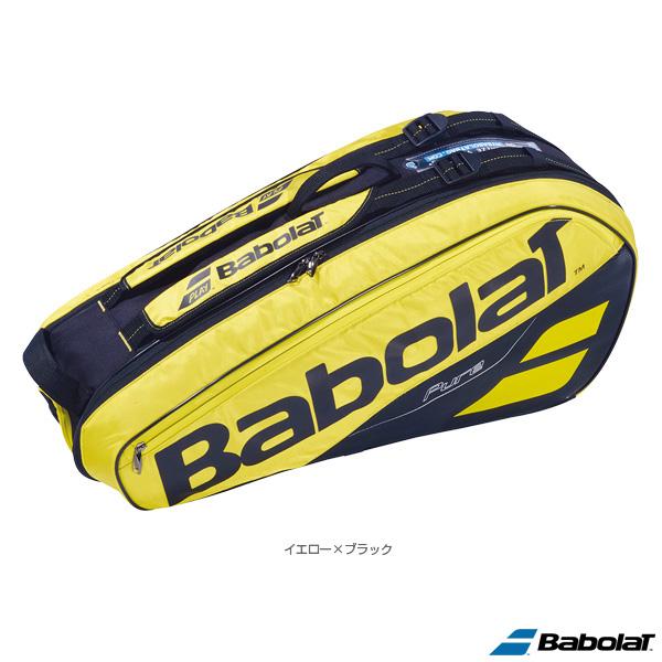 【テニス バッグ バボラ】ピュアライン ラケットバッグ/PURE LINE RACKET HOLDER X6/ラケット6本収納可(BB751182)