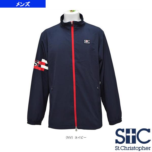 【テニス・バドミントン ウェア(メンズ/ユニ) セントクリストファー】アームラインウインドジャケット/メンズ(STC-AHM5061)