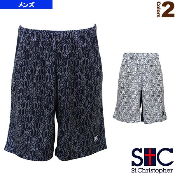 テニス バドミントン ウェア メンズ 正規販売店 ユニ セントクリストファー STC 贈物 パターンパンツ STC-AHM5074