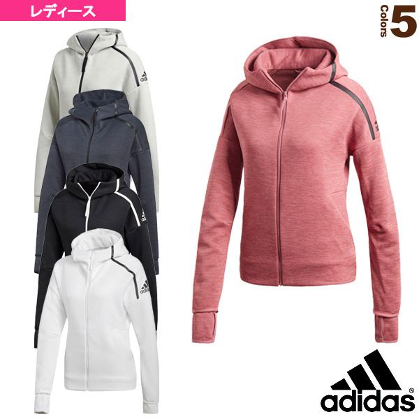 【オールスポーツ ウェア(レディース) アディダス】W adidas Z.N.E. フーディー ファストリリース/レディース(EUD74)