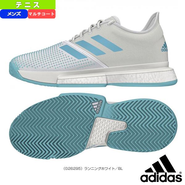 【テニス シューズ アディダス】 SoleCourt Boost M MC/ソールコートブースト マルチコート/メンズ(G26295)