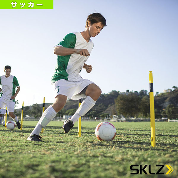【サッカー トレーニング用品 スキルズ】 PRO TRAINING AGILITY POLES/プロトレーニングアジリティポール/8本入(023216)