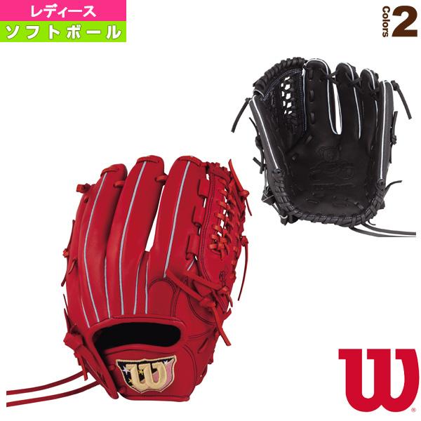【ソフトボール グローブ ウィルソン】 Wilson Bear/女子ソフトボール用グラブ/オールラウンド用(WTASBS57B)