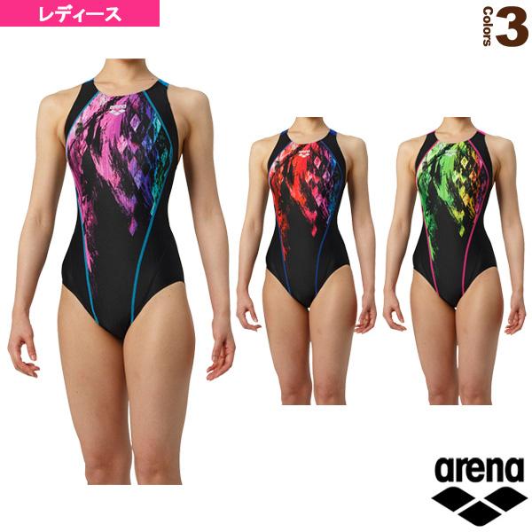 【水泳 ウェア(レディース) アリーナ】 セイフリーバック(着やストラップ)/レーシング水着/レディース(ARN-9068W)