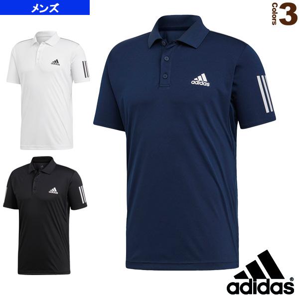 adidas 3 stripe polo shirt