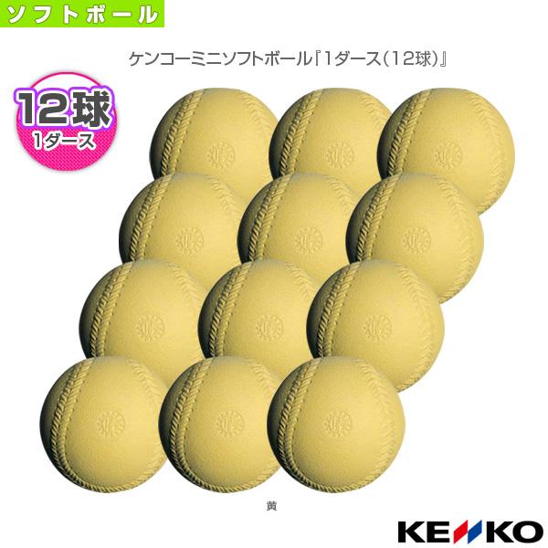 【ソフトボール ボール ケンコー】 ケンコーミニソフトボール『1ダース(12球)』(J2P)
