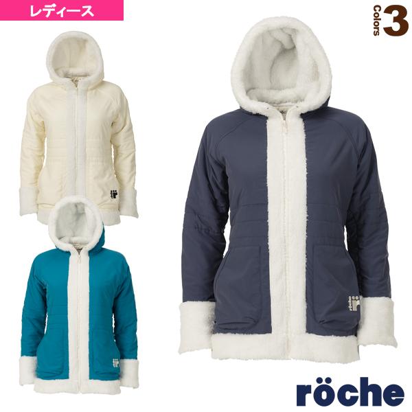 【テニス・バドミントン ウェア(レディース) ローチェ(roche)】 防寒ジャケット/レディース(R9A47J)