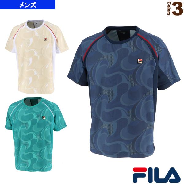 【テニス・バドミントン ウェア(メンズ/ユニ) フィラ】2019年08月下旬 【予約】ゲームシャツ/メンズ(VM5434)