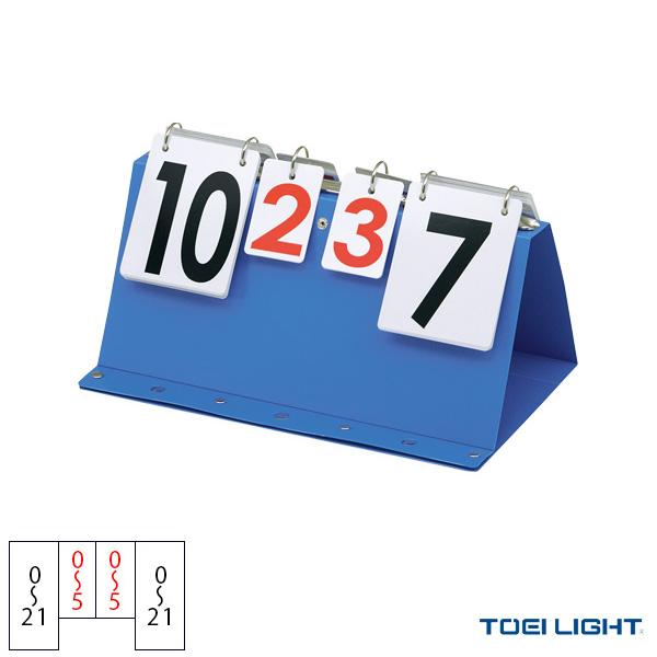 【卓球 コート用品 TOEI(トーエイ)】 両面表示卓球得点板(B-2683)