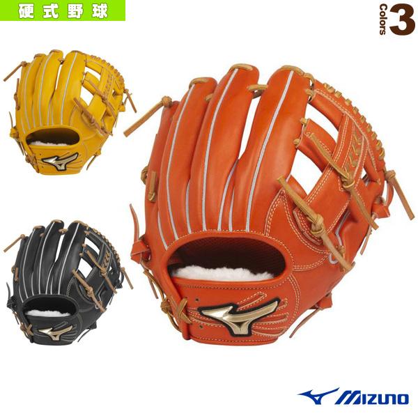 【野球 グローブ ミズノ】 グローバルエリート H Selection 02+プラス/硬式・内野手用グラブ/ポケット正面タイプ(1AJGH22413)