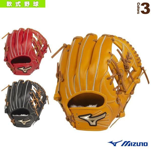 【軟式野球 グローブ ミズノ】 グローバルエリート H Selection 02+プラス/軟式・内野手用グラブ/ポケット正面タイプ(1AJGR22423)