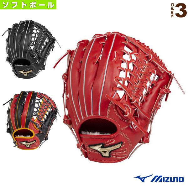 【ソフトボール グローブ ミズノ】 グローバルエリート H Selection 02+プラス/ソフトボール・外野手用グラブ(1AJGS22407)
