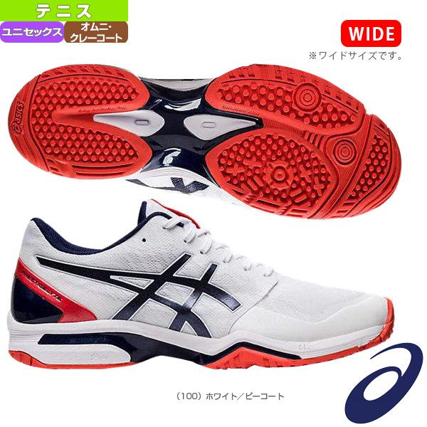 【テニス シューズ アシックス】 PRESTIGELYTE 3 OC/プレステージライト 3 OC/ワイド/ユニセックス(1043A008)