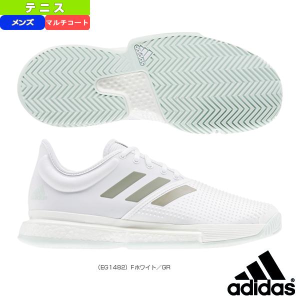 【テニス シューズ アディダス】 SoleCourt Boost M MC/ソールコートブースト マルチコート/メンズ(EG1482)