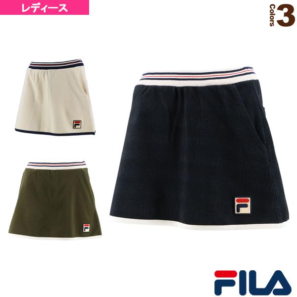 【テニス・バドミントン ウェア(レディース) フィラ】 スコート/レディース(VL2220)